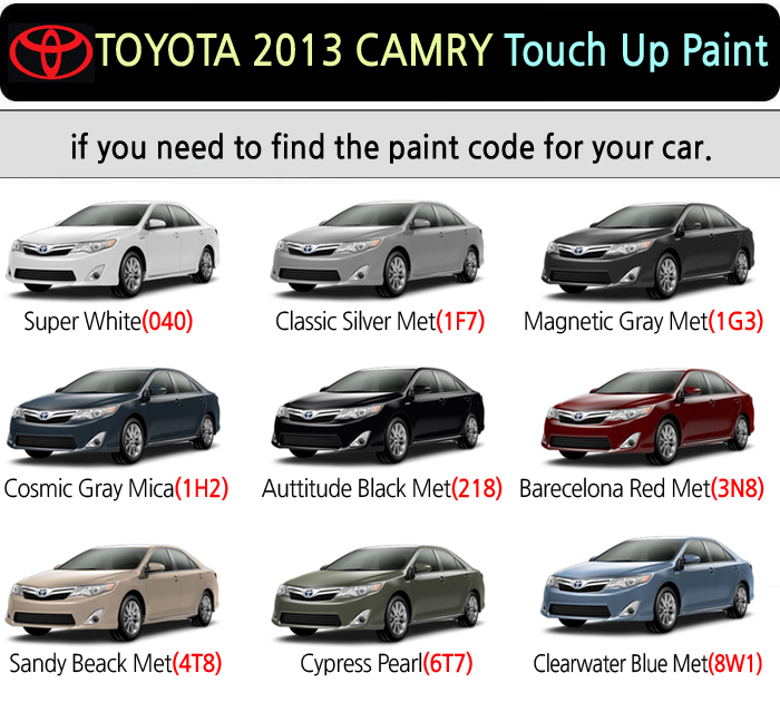Magictip toyota camry touch up paint pen 040 1f7 1g3 1h2 for Toyota paint touch up pen