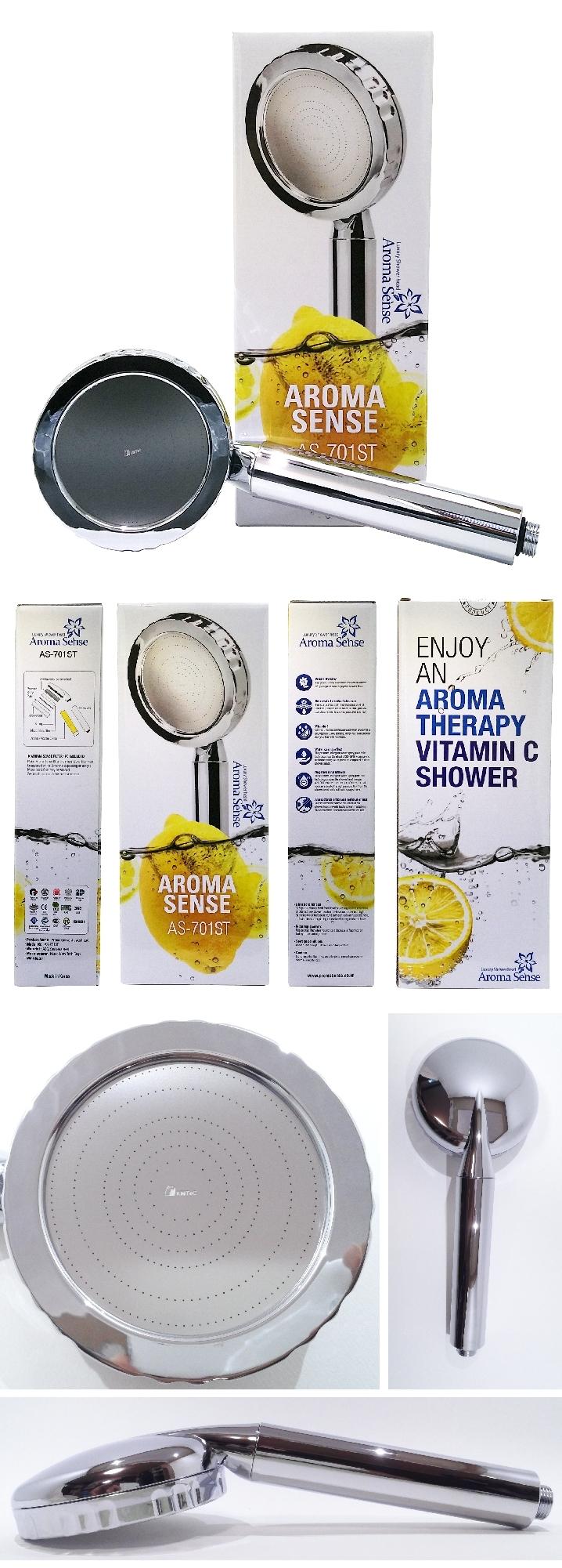 kntec aroma sense vitamin c water saving super jet as 701st chrome shower head ebay. Black Bedroom Furniture Sets. Home Design Ideas
