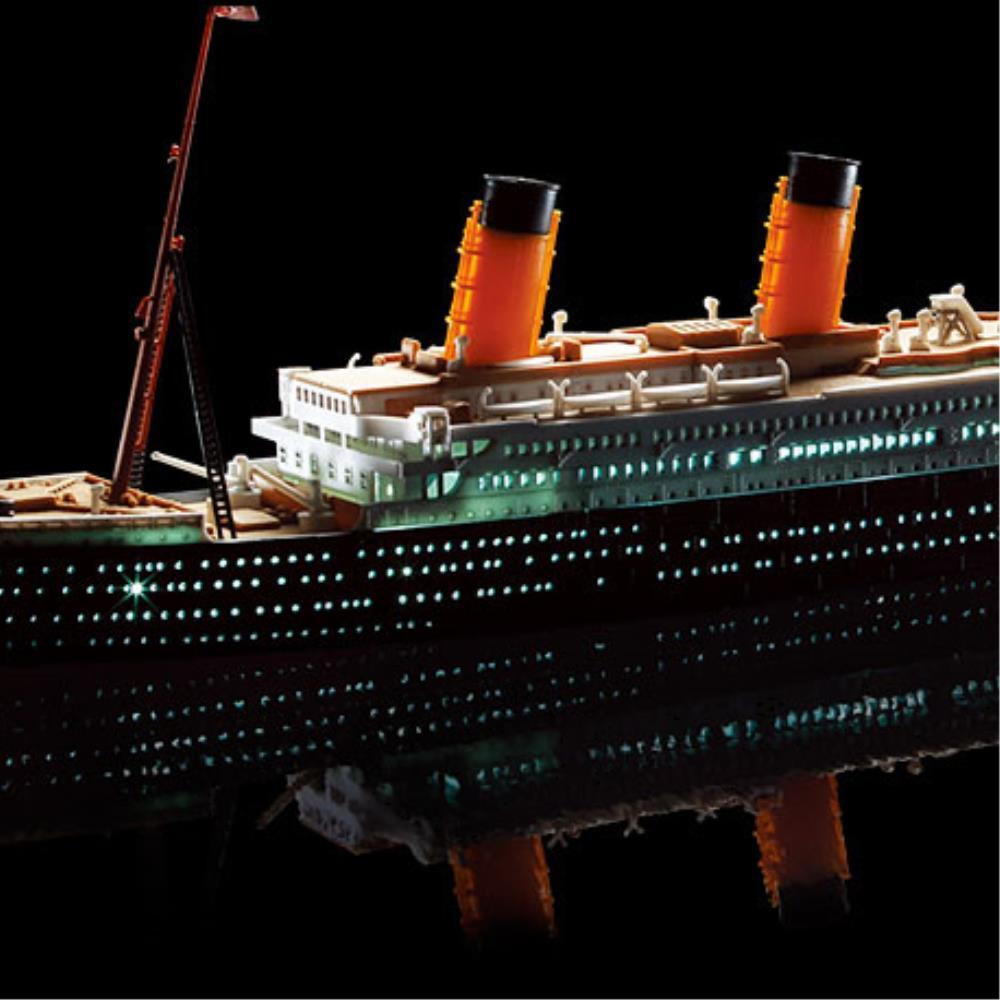 집콕놀이 LED 타이타닉 배모형  프라모델 아동장난감 완구