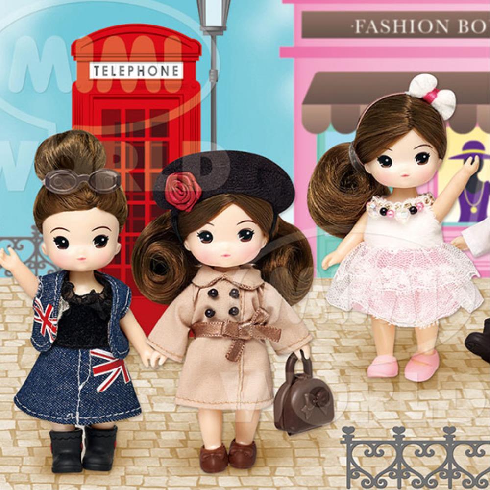 조카선물 런던에서쇼핑 리틀미미 옷입히기 장난감