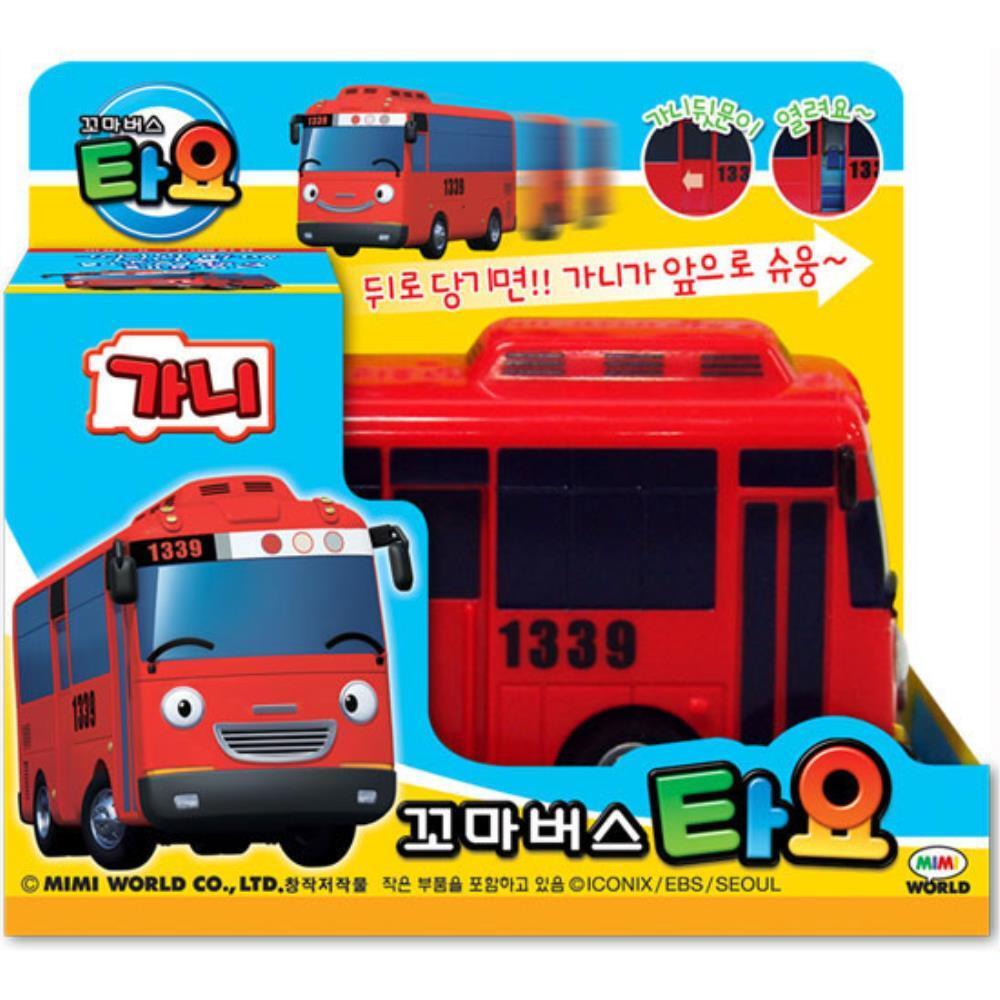 완구 빨간버스  타요 유아 장난감 자동차 가니 유아장난감