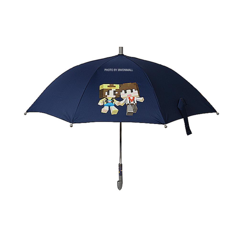 장마대비 샌드박스 캐릭터 네이비 장우산 남성우산