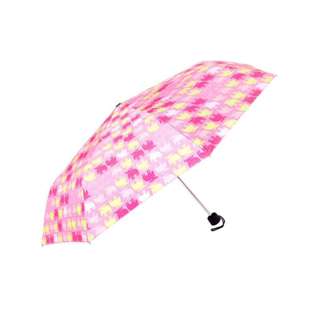 접이식 모즈 패턴 3단 수동우산 장마우산 튼튼한우산