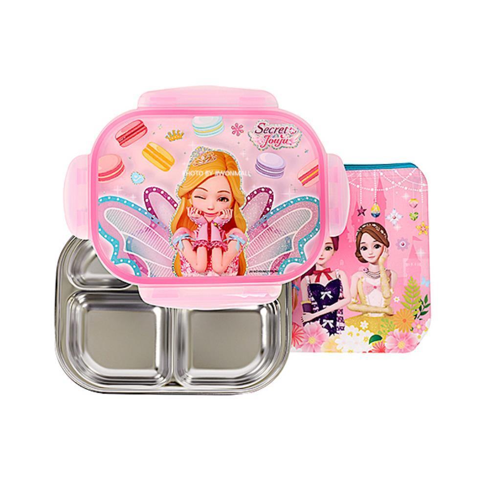 시크릿쥬쥬 도시락 가방  식판 세트 어린이식판세트 도시락가방세트 급식판