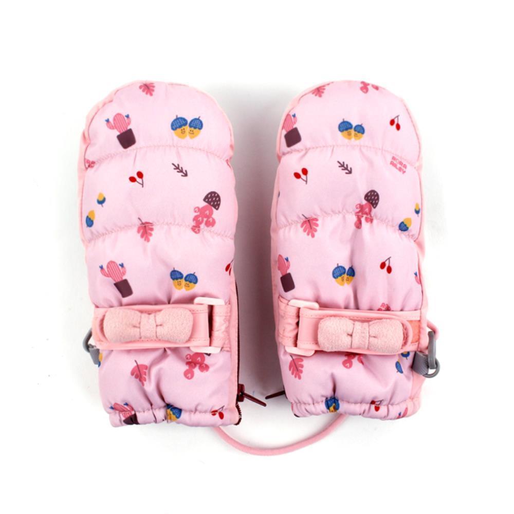 스트랩 패딩 로라앨리 스키장갑 아동장갑 보드장갑