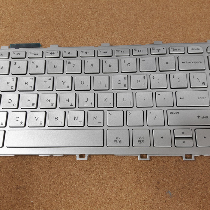 New Silver HP ENVY 15-Q600 15-Q667nr Keyboard US Backlit