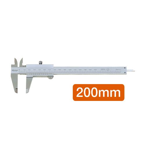 버니어 캘리퍼스(200mm) 버니어캘리퍼스 캘리퍼스 디지털캘리퍼스 정밀공구 측정기기 정밀기기 측정공구 산업용측정기 공업용측정기