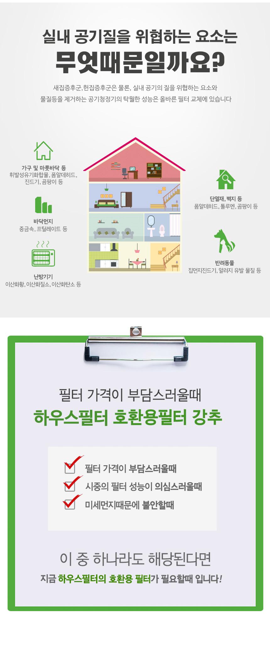 10-1076K 암웨이 공기청정기 탈취필터 업그레이드형 - 굿럭, 49,000원, 공기청정기, 공기청정기