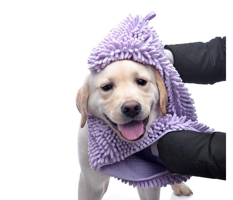 강아지 고양이 목욕 수건 타월 극세사 점보 펫 타올 - 펫블라썸, 7,800원, 미용/목욕용품, 건조기/타월