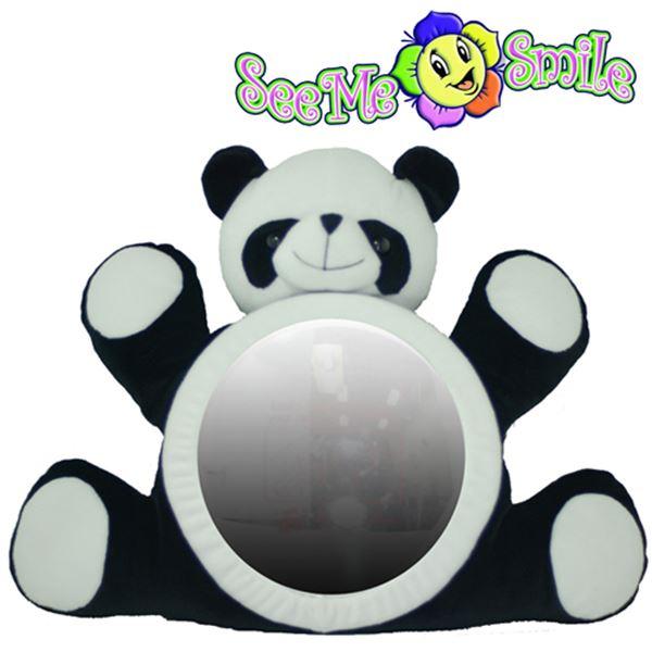 [현재분류명],씨미스마일 카시트 인형거울 (팬더거울),인형거울,씨미스마일,카시트,인형거울,아기장난감