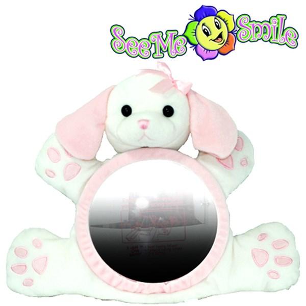 [현재분류명],씨미스마일 카시트 인형거울 핑크퍼피(10511),인형거울,씨미스마일,카시트,인형거울,아기장난감