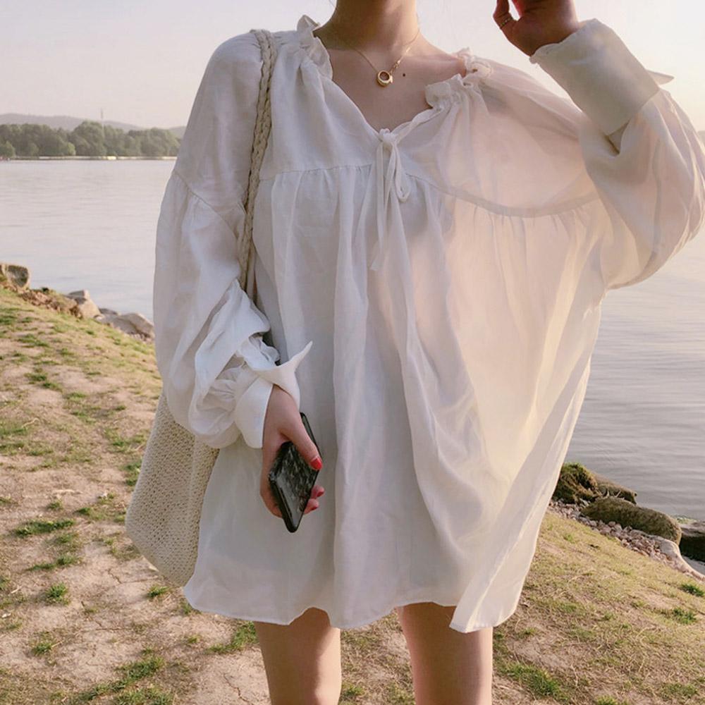 [TOP]에밀리 에스닉 블라우스