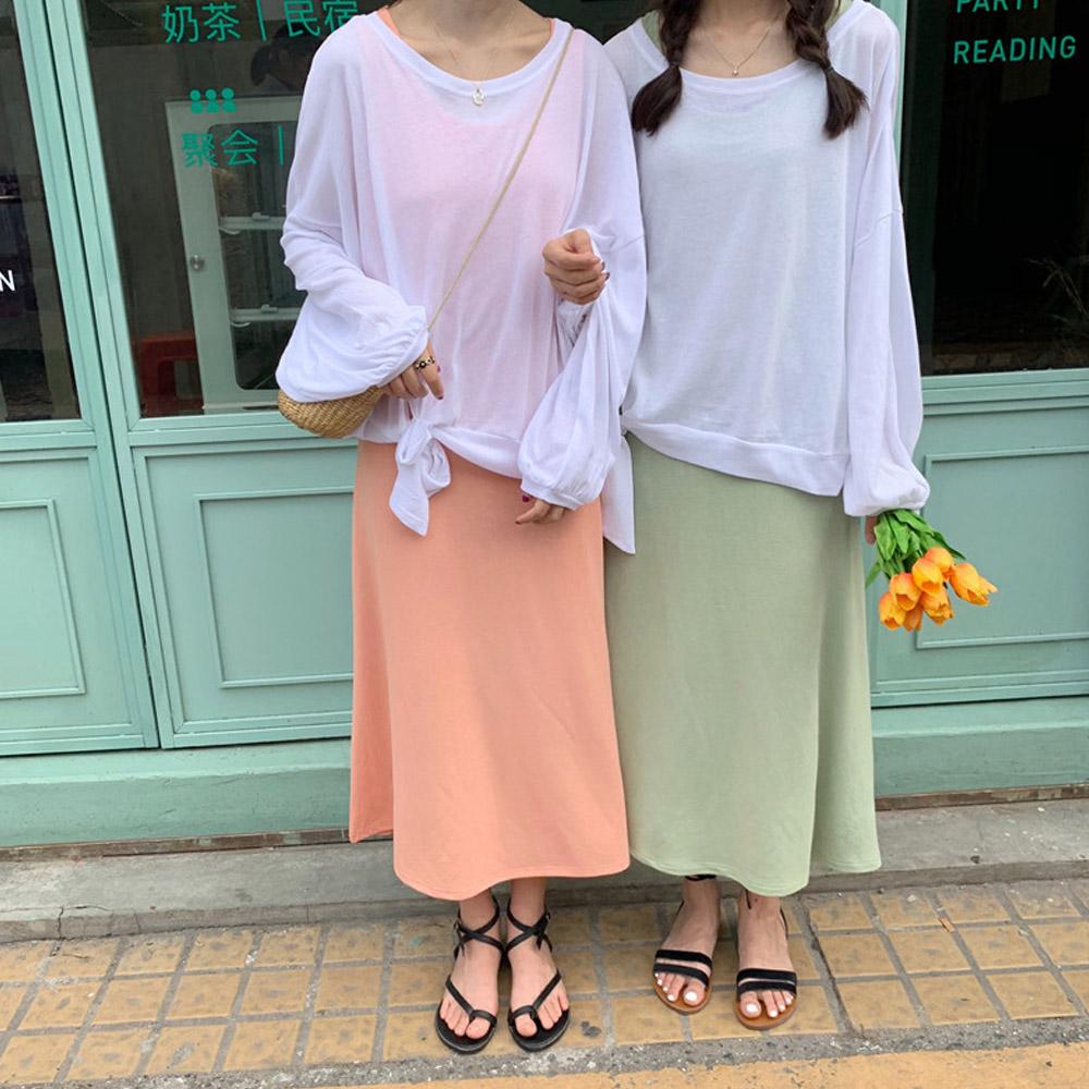 [DRESS]후르츠 티셔츠 원피스SET