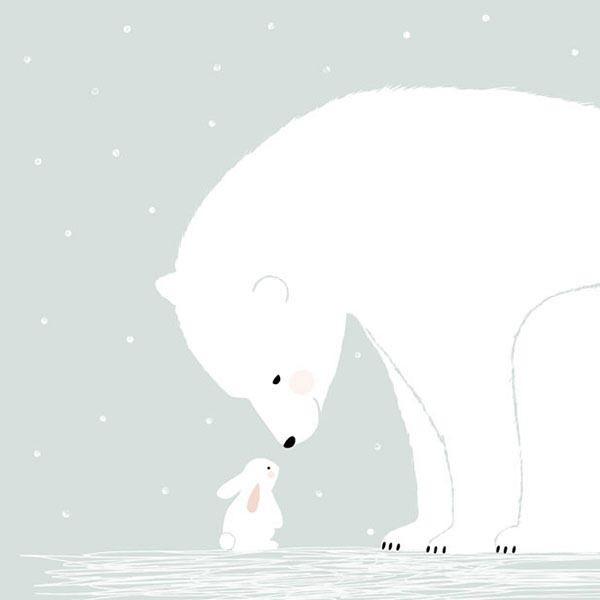 [북극곰 1번] 롤스크린