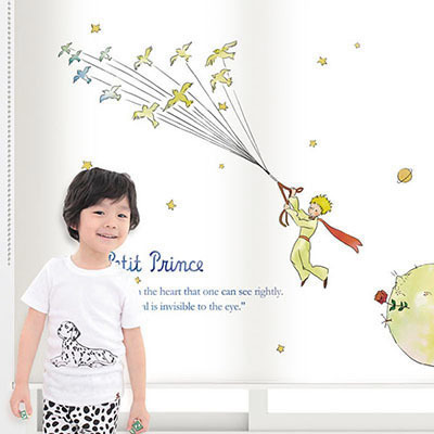 [어린왕자 3번] 롤스크린 아이방 아기 어린이 키즈 실사 그림 어린이집 유치원 암막 방염 맞춤 디자인 제작 로즈레
