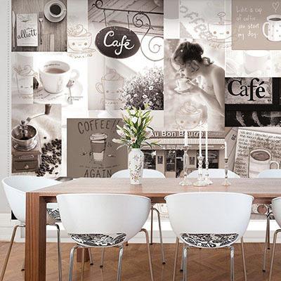 카페 롤스크린 암막 방염 실사 디자인 그림 아트 디자인 창문 롤 블라인드 인쇄 맞춤제작