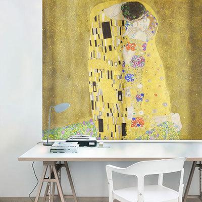 실사롤스크린 클림트 명화 그림 암막, 방염, 거실 사무실 창문 롤 블라인드 인쇄 맞춤제작