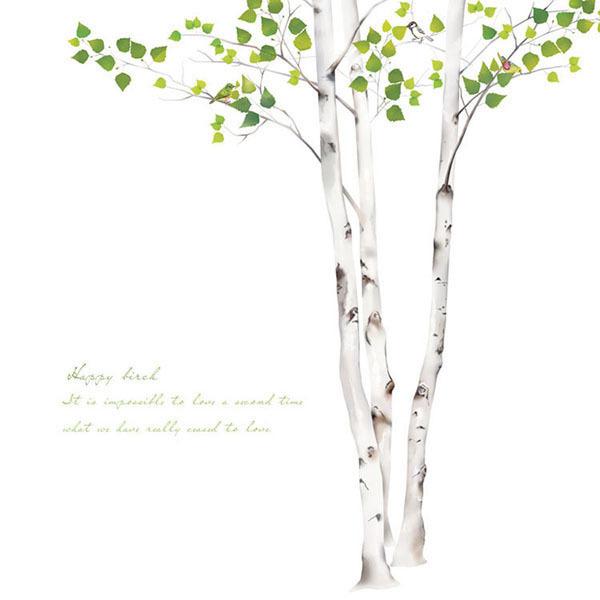 실사 롤스크린 암막 방염 그림 사진 블라인드 로즈레 [행복한자작나무]