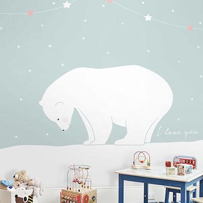 친환경 뮤럴 아이방 어린이집 동물 캐릭터 그림 아기 아동 키즈 인테리어 꾸미기 포인트벽지