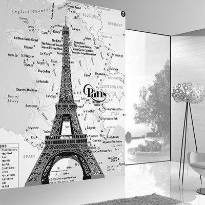 [에펠탑 2번] 친환경 맞춤 디자인 제작 포인트 뮤럴벽지
