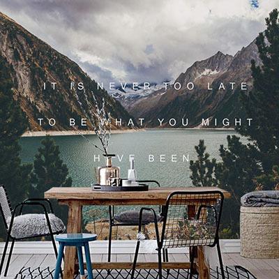 뮤럴 자연 풍경 실사 사진 디자인 인테리어 아트월 친환경 방염 실크 고급 포인트벽지