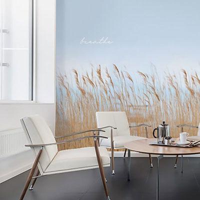 뮤럴 풍경 실사 사진 디자인 인테리어 데코 아트월 친환경 방염 실크 고급 포인트벽지