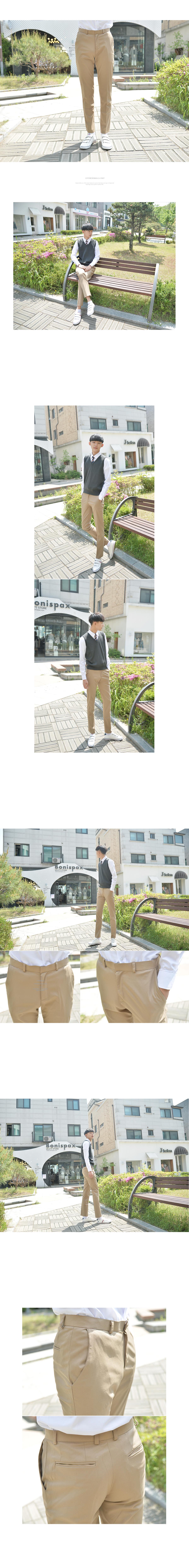 스판 베이지 교복바지 남자 - 교복몰, 37,400원, 남성 스쿨룩, 하의