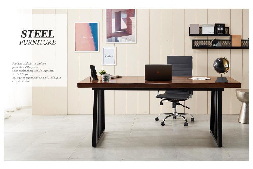 가온 폭600 1600 우드슬랩책상 - (주)동화속나무, 591,000원, 책상/의자, 일반 책상