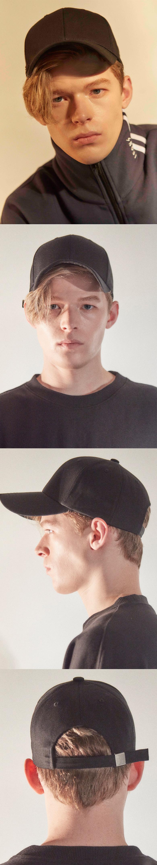 스나웃(SNOUT) 1495-black 무지 볼캡