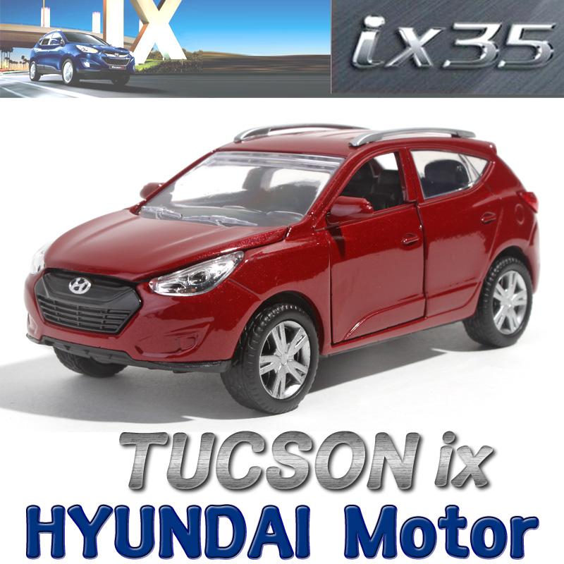 1 32 hyundai motor tucson ix35 color darkred diecast car for Motor vehicle department tucson