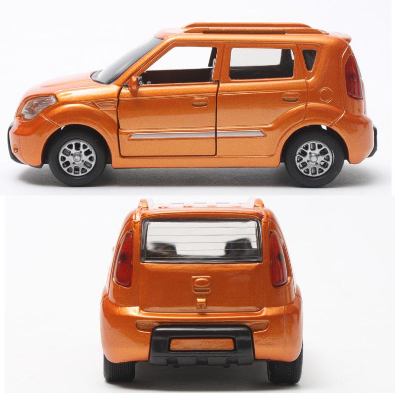 2008 soul orange diecast mini cars kia motors toys korea for Does ebay motors ship cars