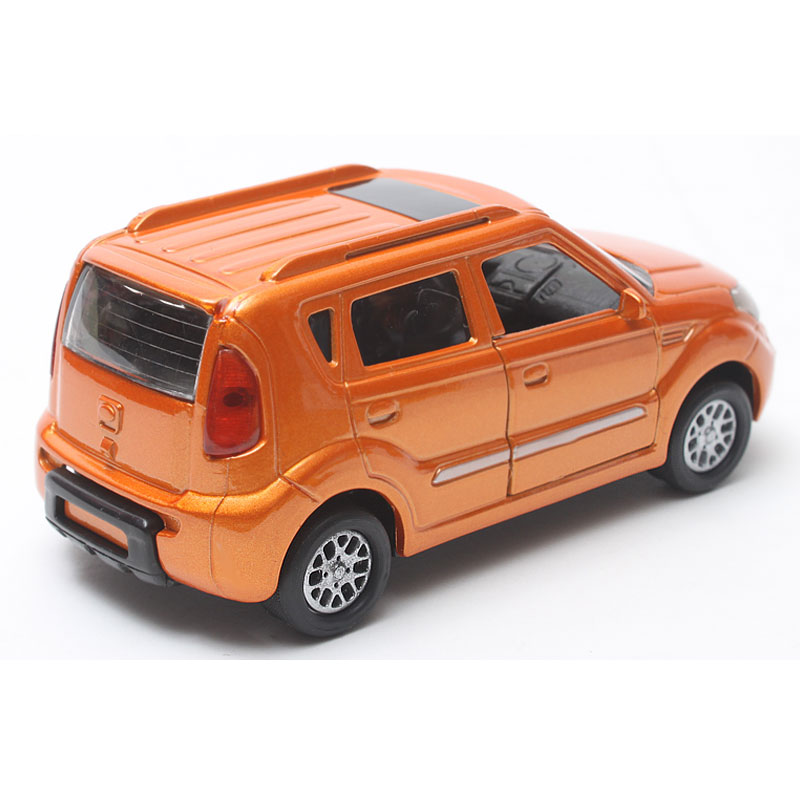 2008 soul orange diecast mini cars kia motors toys korea brand 1 32 freeshipping ebay. Black Bedroom Furniture Sets. Home Design Ideas