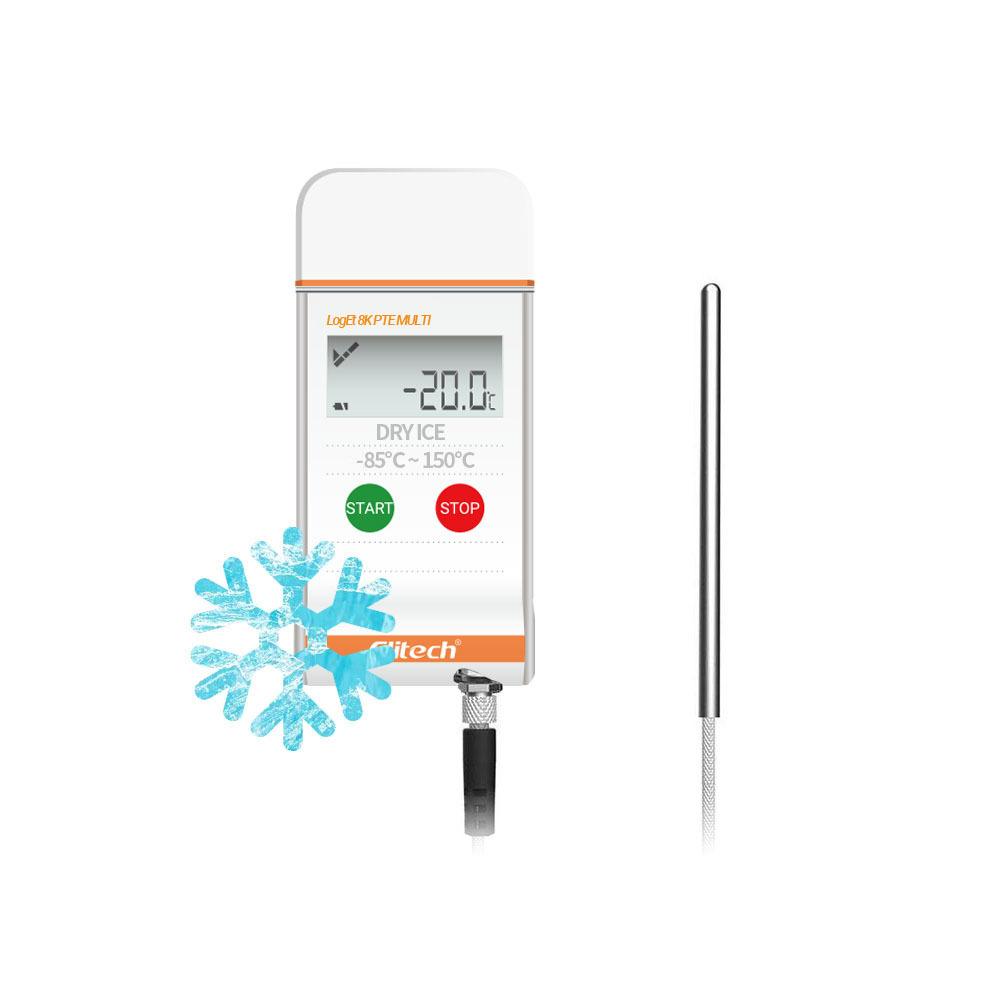 Elitech LogEt-8K PTE 온도기록계 백신운반 냉동창고 저온측정 콜드체인