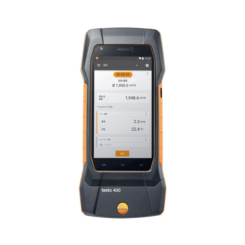 testo 400 스마트 다기능 종합환경 측정기 열선 측정 세