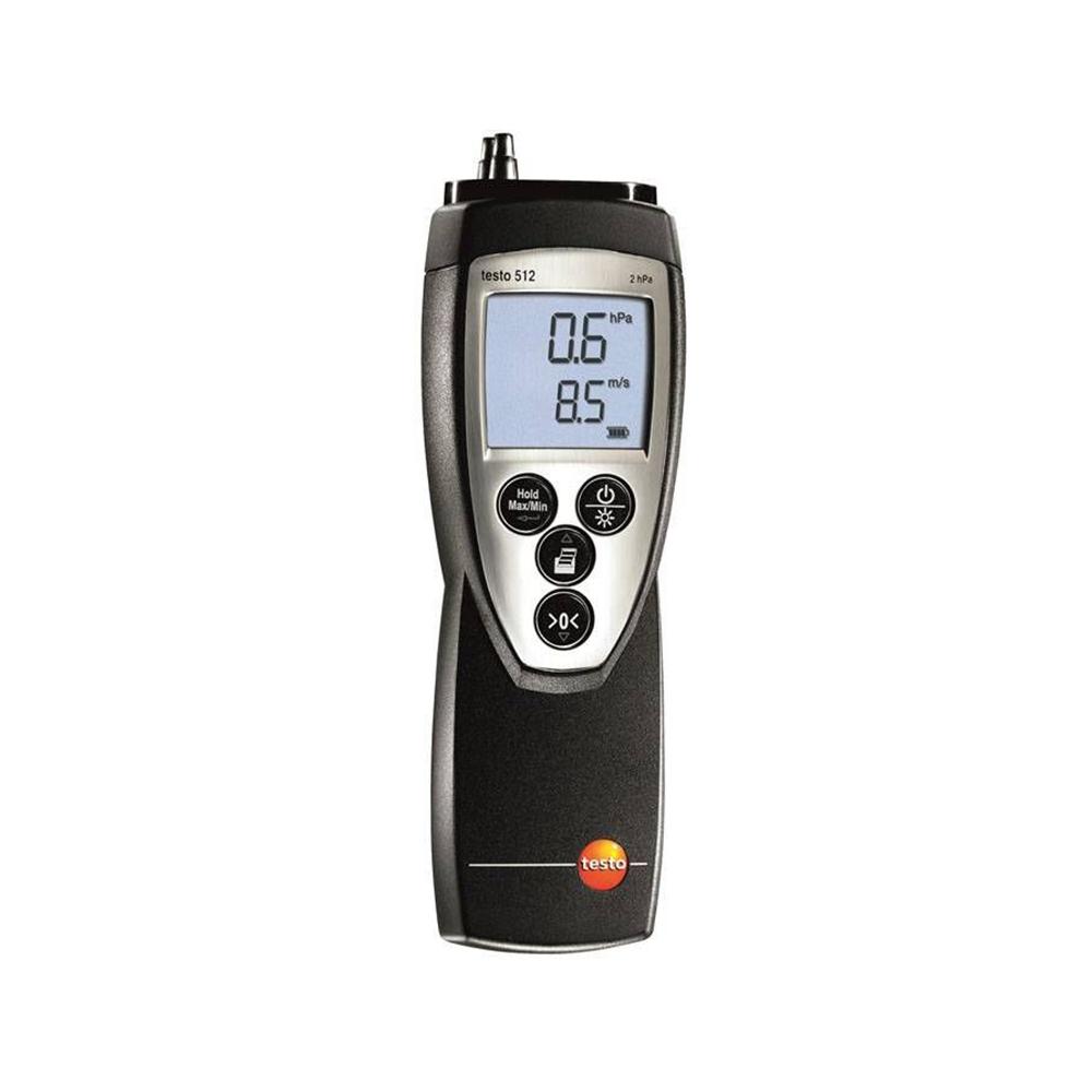 testo 512 압력 및 풍속 측정기 (0 ~ +2hPa)