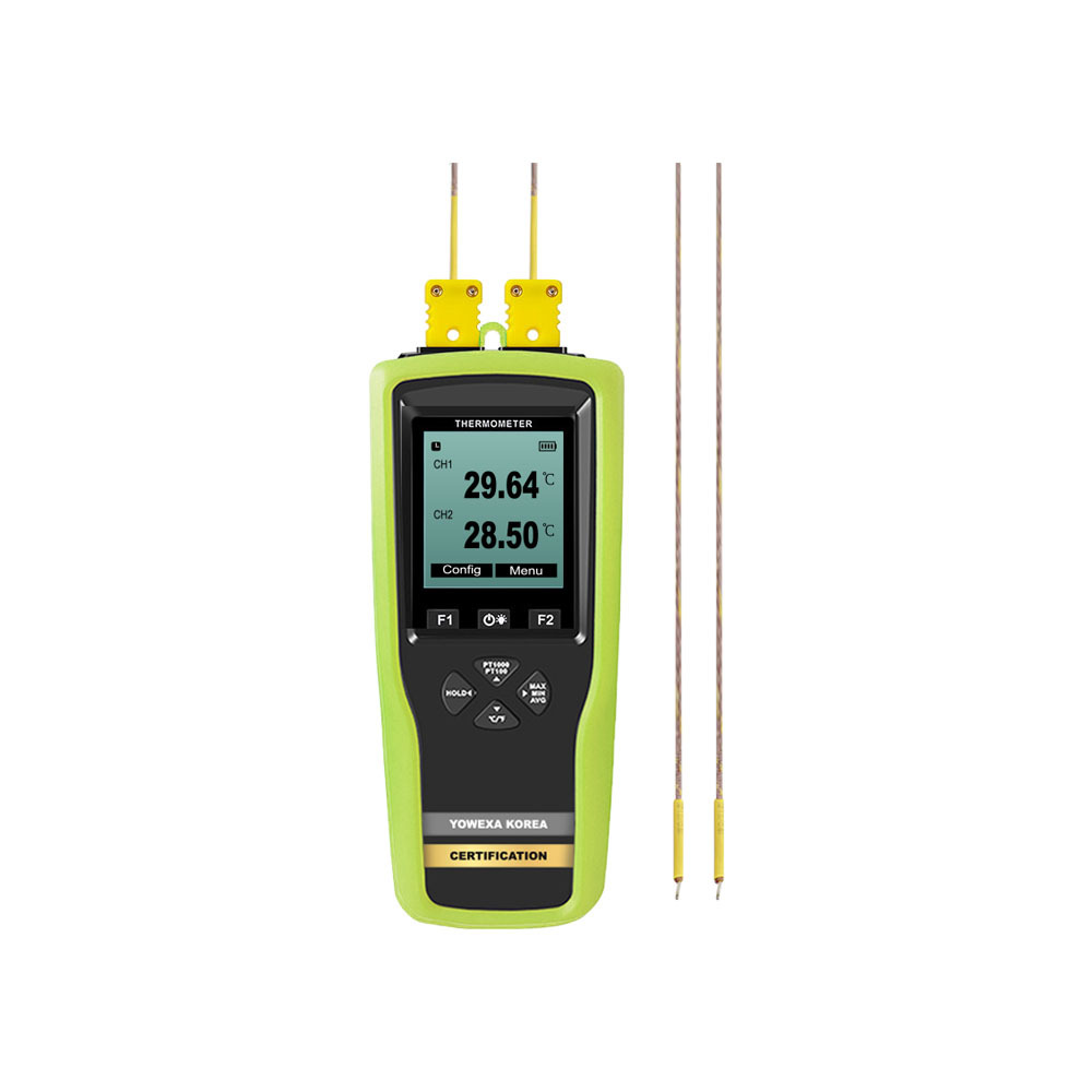 YOWEXA YET-620L-K 2채널 열전대 온도 기록계
