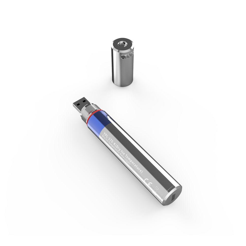 YOWEXA YPL-170-K 드라이 아이스용 USB형 온도 기록계 백신운반 냉동창고 저온측정 콜드체인