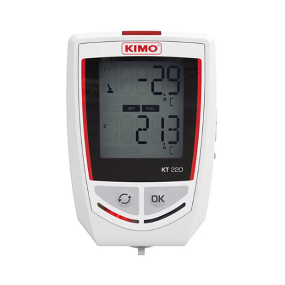 KIMO KT220-O 2채널 온도 기록계