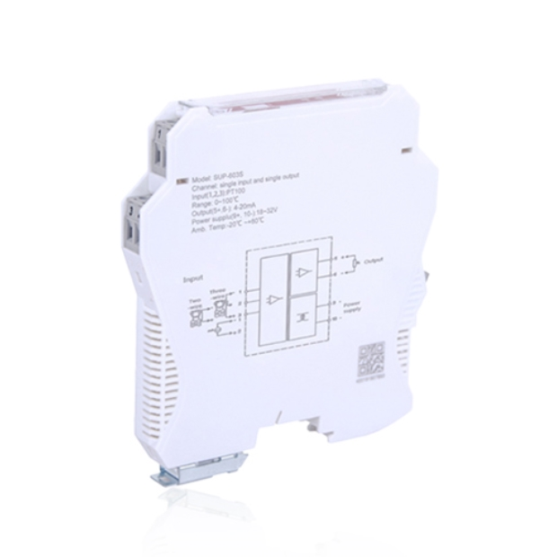 SUPMEA 603S 온도트랜스미터 1입력 2출력