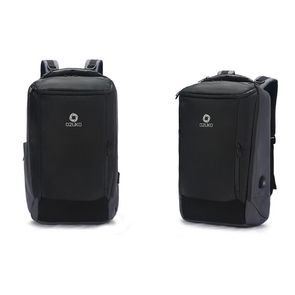 히든 포켓 노트북 캐리어 USB 여행백팩 남성베낭 남자백팩