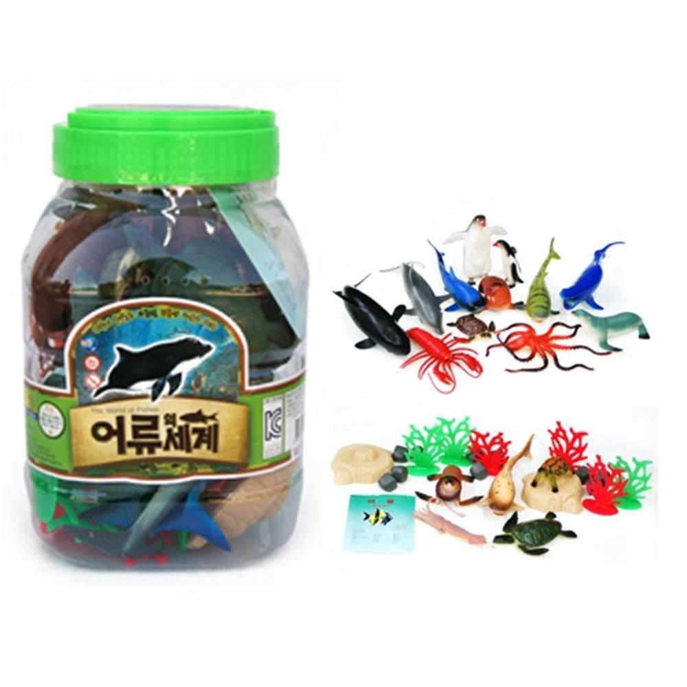 바다 해양 동물 모형 장난감 어류의세계 아기장난감 완구