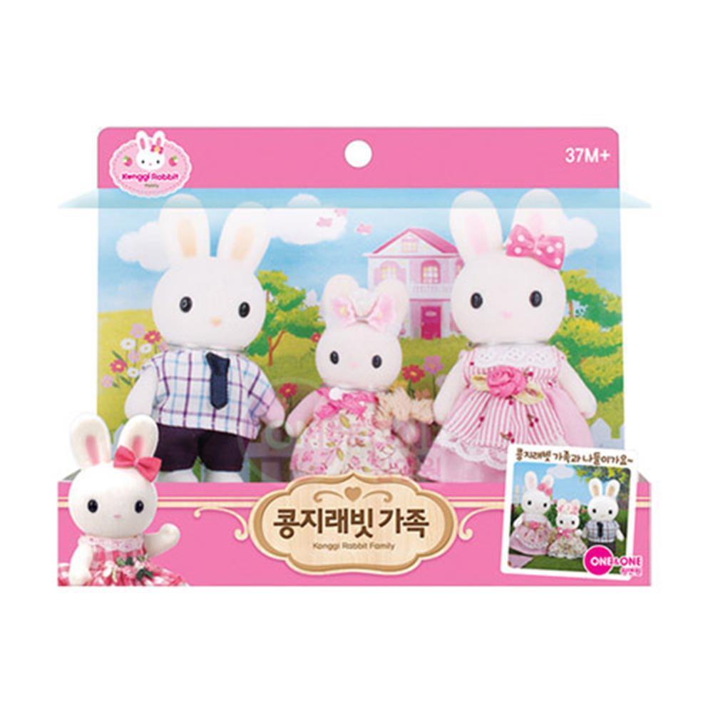 콩지래빗 가족 역할 놀이 여아 장난감 아기장난감 완구