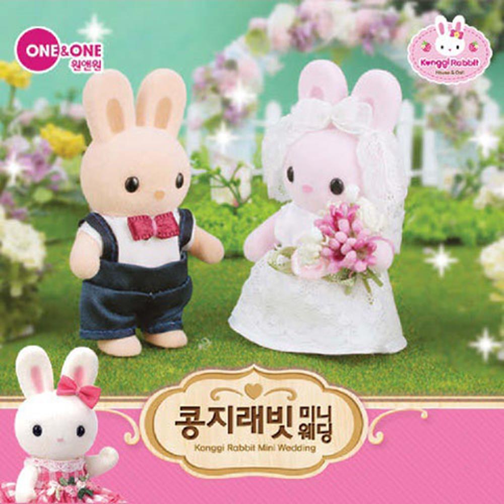 신혼부부 선물 장식 미니웨딩 인형 장난감 아기장난감