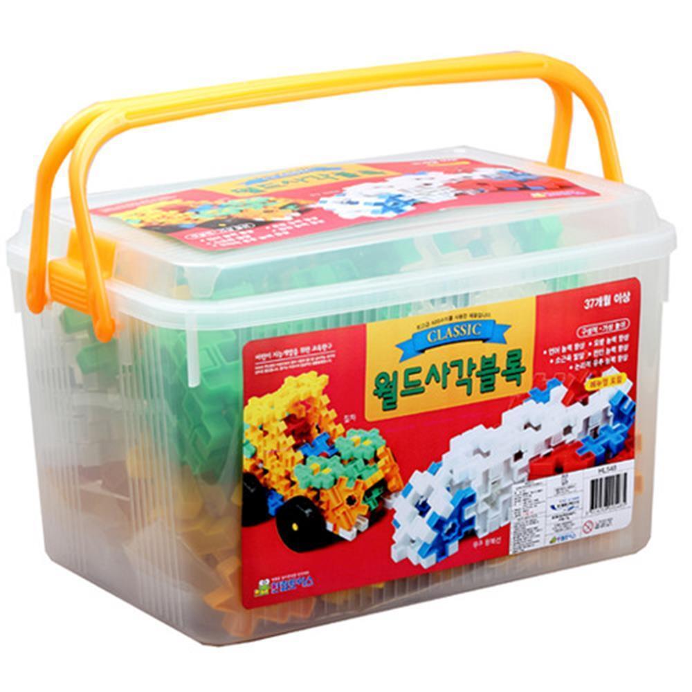 어린이 창의력 발달 놀이 사각블럭 완구 어린이날선물