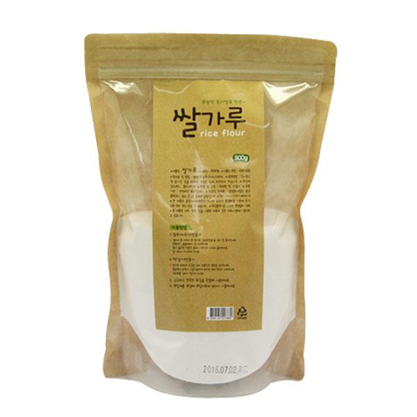 [현재분류명],180822DSPRO-4980 두레생협 쌀가루(500g),