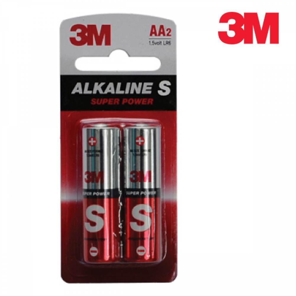 [더산3M]3M 알카라인S 건전지/건전지/배터리/AA건전지/AAA건전지/알카라인건전지/밧데리/3M건전지/충전지