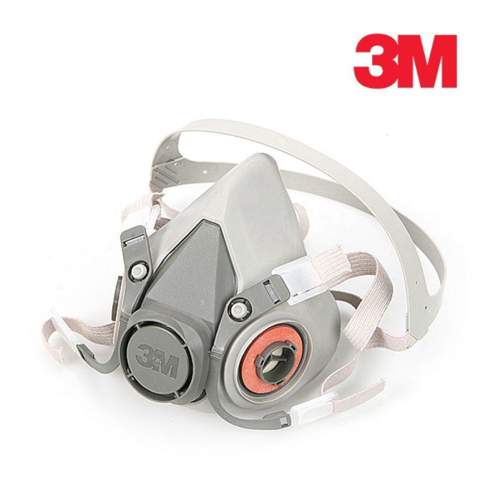 [더산3M]3M 방독마스크 6200 단품/방독마스크/산업용마스크/3M마스크/안전마스크/방진마스크/일반방독면/호흡보호구/6200마스크/마스크