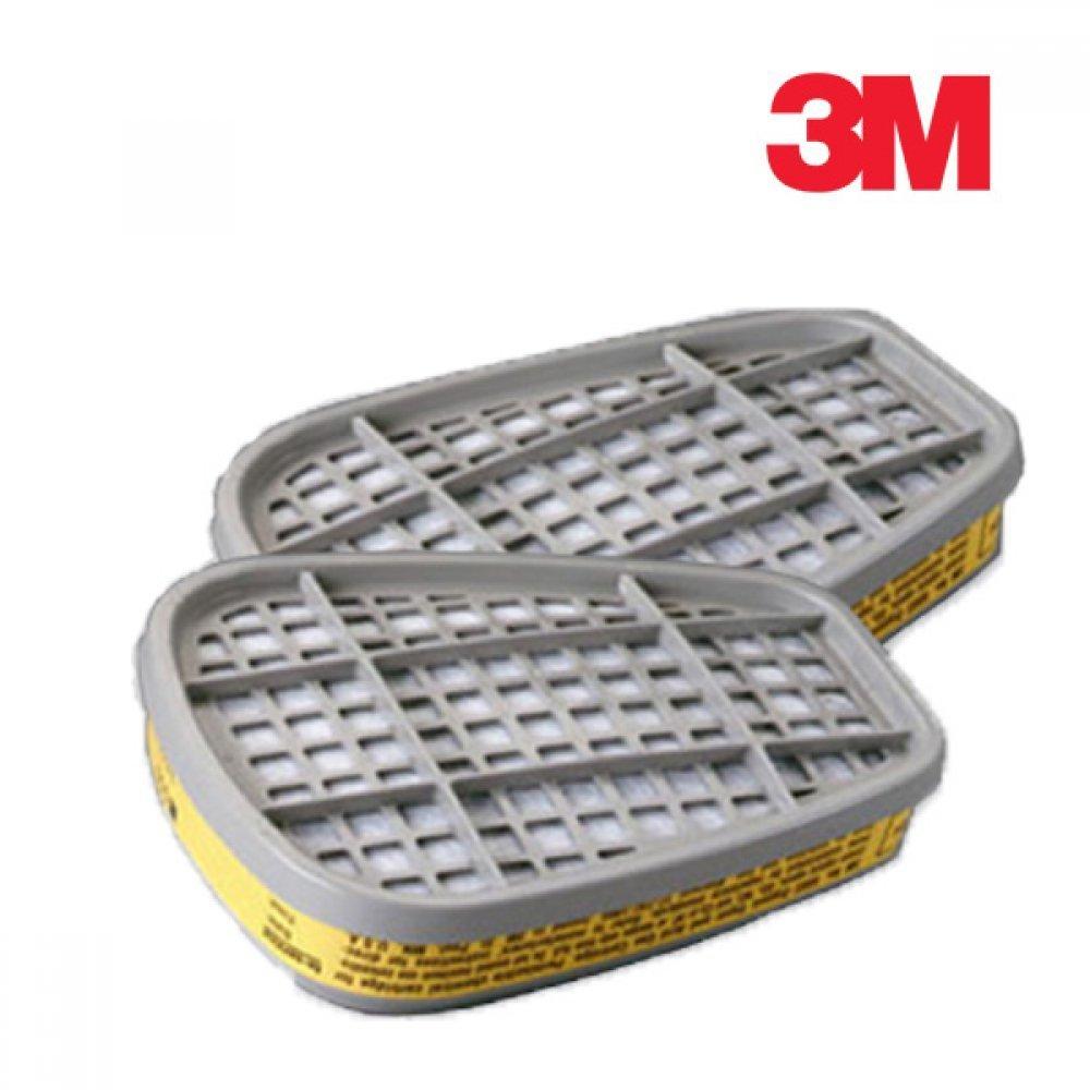 3M 방독마스크 방독필터 6003K 1봉 2개입