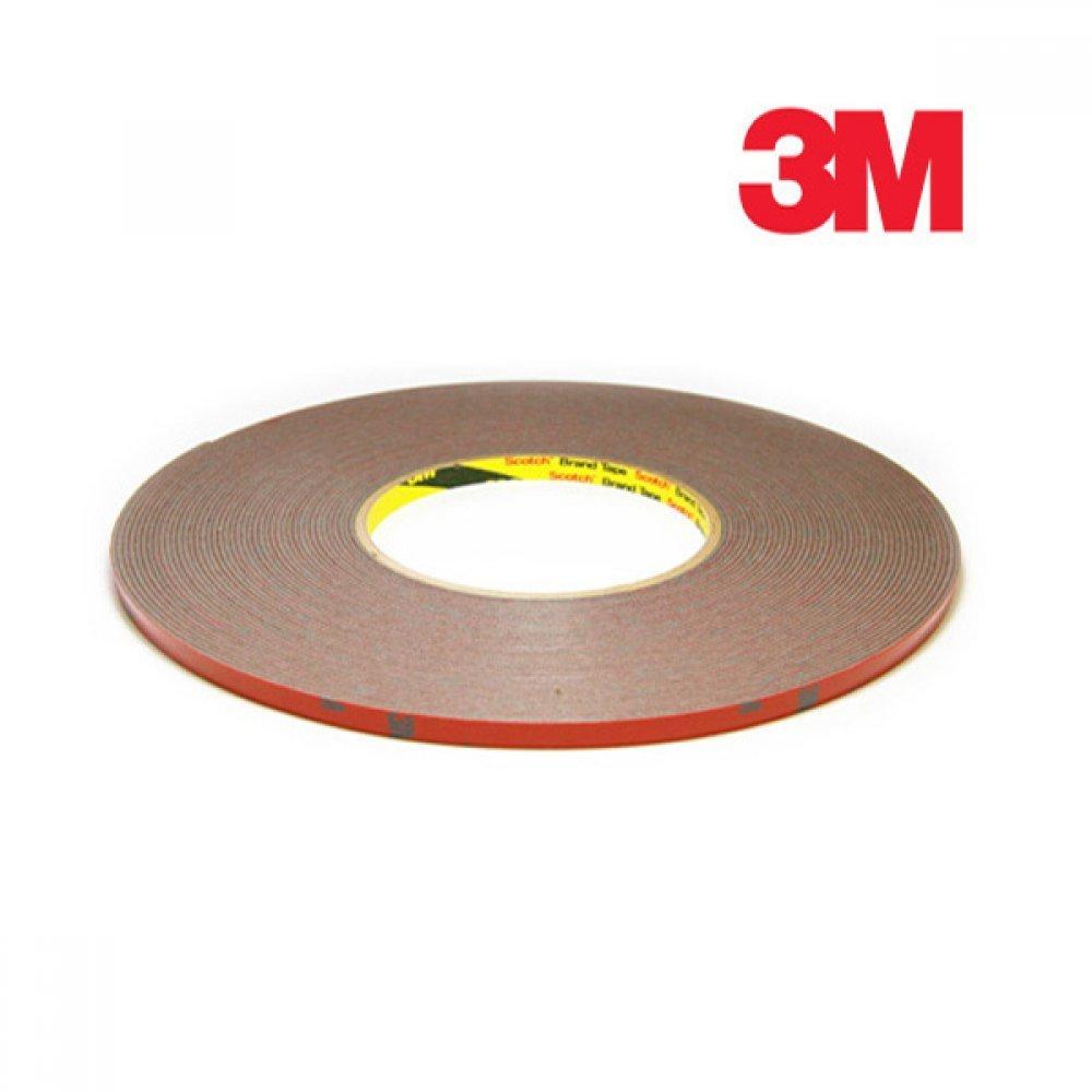 [더산3M]3M 몰딩양면테이프 10mm x 16.5M/양면테이프/몰딩양면테이프/3M양면테이프/3M테이프/두꺼운양면테이프/테이프/접착테이프