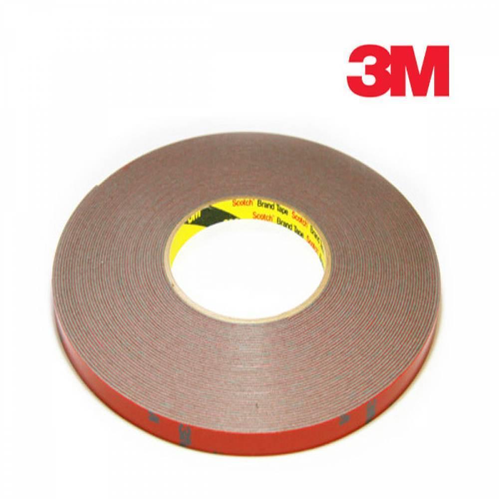 [더산3M]3M 몰딩양면테이프 15mm x 16.5M/양면테이프/몰딩양면테이프/3M양면테이프/3M테이프/두꺼운양면테이프/테이프/접착테이프